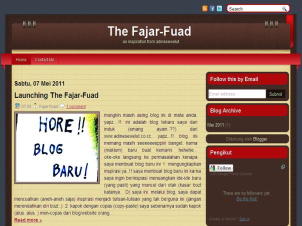 Halaman Depan The Fajar-Fuad!!!